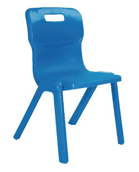Titan Size 4 One Piece School Chair