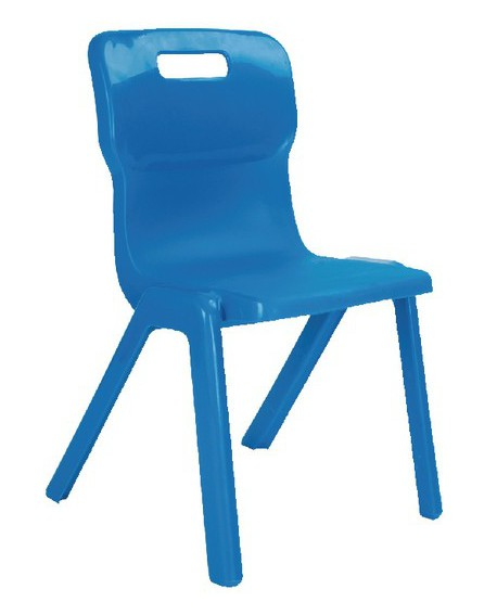Titan Size 5 One Piece School Chair
