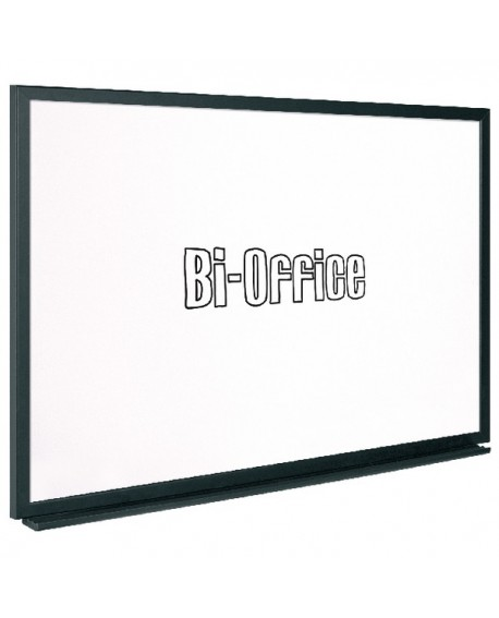 Bi-Office Black Framed Drywipe Board 600x450mm MB0400169
