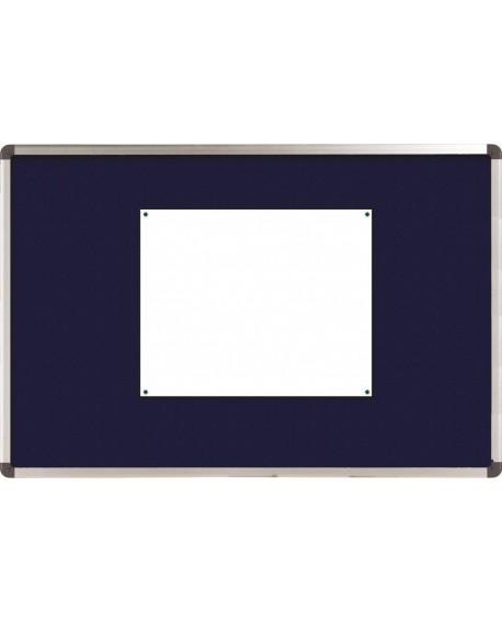 Nobo Blue Felt 1200x900mm Classic Noticeboard 1900916