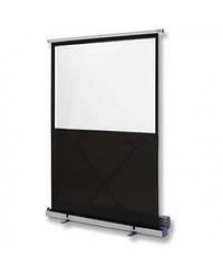 Nobo Floor-standing Screen W1620xH1220mm Portable Grey 1901956