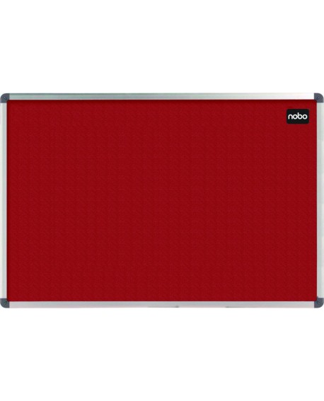 Nobo Red Felt 900x600mm Classic Noticeboard 1902259