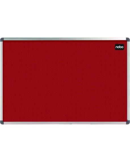 Nobo Red Felt 900x600mm Classic Noticeboard 1902259
