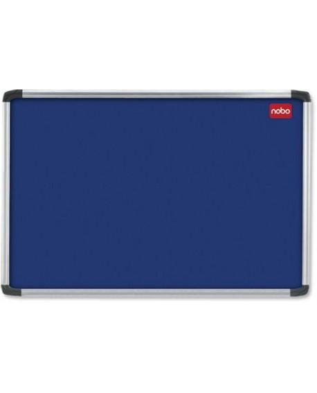 Nobo 900x600mm Aluminium Frame Blue Notice Board 30230174