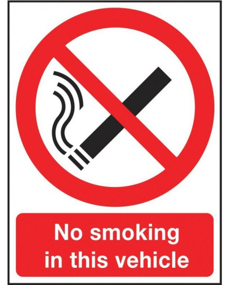 Safety Sign 210x148mm No Smoking Self-Adhesive SR72080