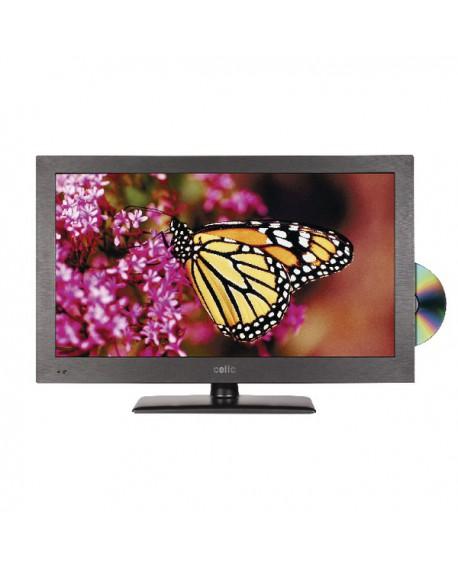 Cello Black 22in HD Ready Super Slim LED TV/DVD Combo C22230F