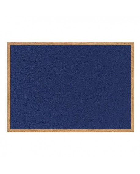 Bi-Office Earth-it Felt Notice Board 900x600mm Blue RFB0743233