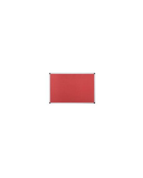 Bi-Office 1200x900mm Red Felt Board FA0546170
